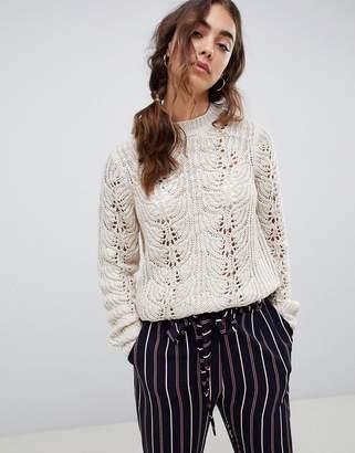 Vero Moda chunky cable knit sweater