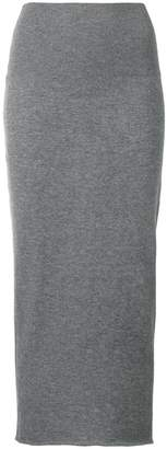 Stella McCartney fine knit fitted skirt
