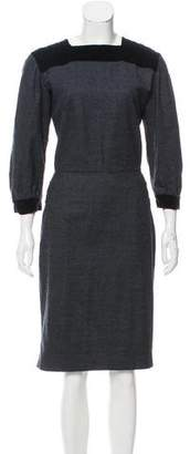 Sophie Theallet Wool Midi Dress