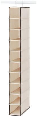 Whitmor 10 Section Hanging Shoe Shelves