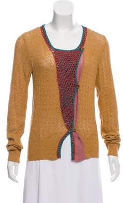 Dries Van Noten Silk Knit Cardigan