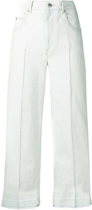 Etoile Isabel Marant high-waisted cropped jeans