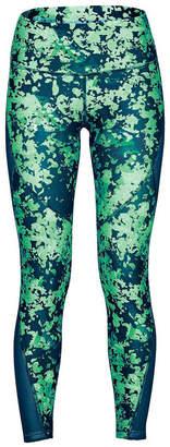 Under Armour Womens HeatGear Armour Print Ankle Crop Tights