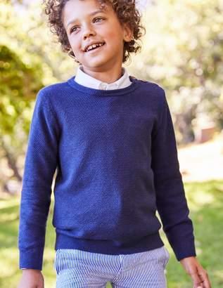 Boden Textured Crew Sweater
