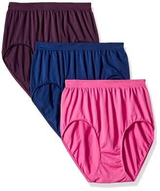 ed6ab9099f3 Bali Women s Comfort Revolution Brief Panty 3-Pack