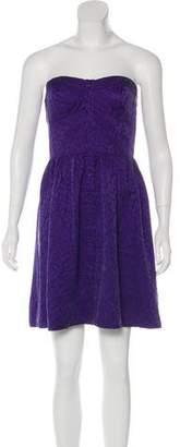 Rebecca Taylor Silk Strapless Dress w/ Tags