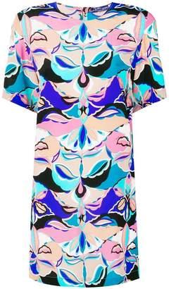 Emilio Pucci psychedelic print mini dress