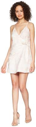 The Jetset Diaries Topanga Wrap Mini Dress Women's Dress