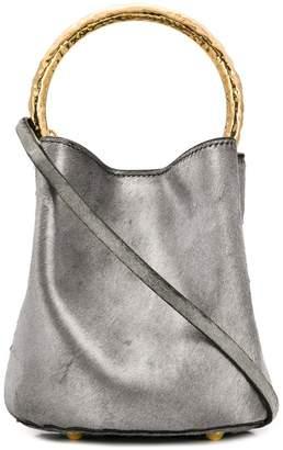 Marni Pannier metallic bucket bag