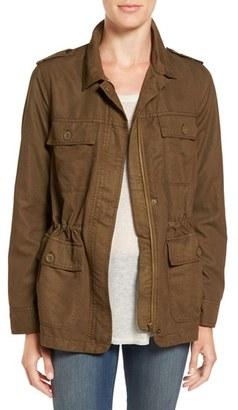 Women's Hinge Oversize Utility Jacket $79 thestylecure.com