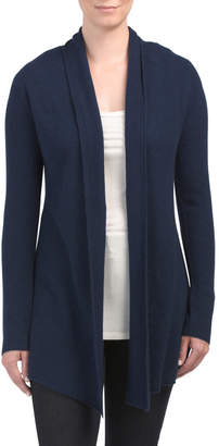InCashmere In Cashmere Cashmere Open Front Long Cardigan