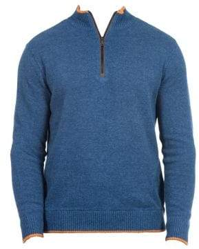 Robert Graham Cavalry Quarter-Zip Sweater