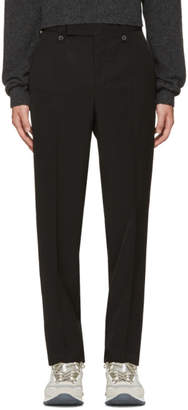 Lanvin Black Loose Fit Trousers