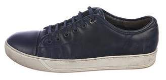 Lanvin Basket Leather Sneakers