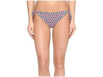 Tommy Bahama Geo Reversible String Bikini Women's Swimwear