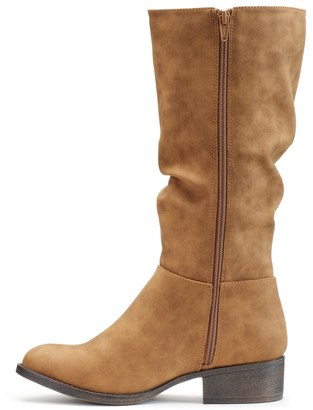 Candies Candie's® Girls' Tall Fringe Riding Boots - ShopStyle Shoes