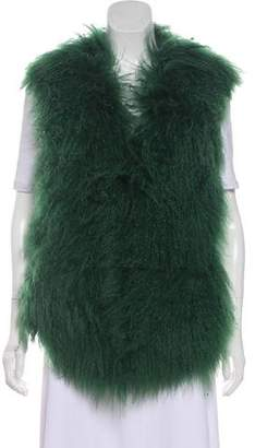 Linda Richards Tibetan Fur Vest
