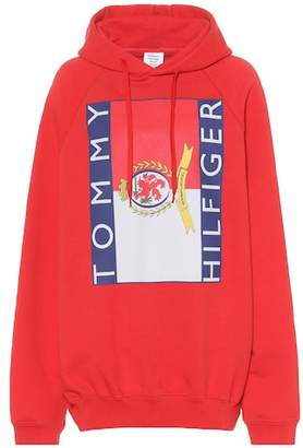 Vetements X Tommy Hilfiger oversized hoodie