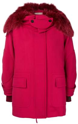 Fendi hooded parka jacket