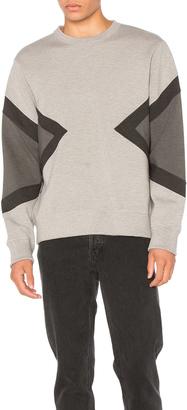 Neil Barrett Modernist Sweatshirt $416 thestylecure.com