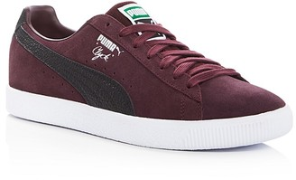 PUMA Clyde B&C Lace Up Sneakers $85 thestylecure.com