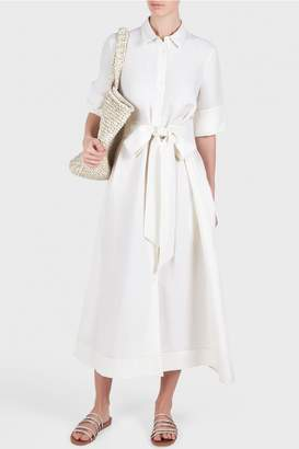 Creatures of Comfort Raina Belted Shirt Dress