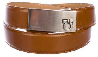 Salvatore Ferragamo Embellished Leather Belt