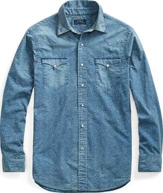 Ralph Lauren Classic Fit Print Twill Shirt