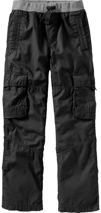 Old Navy Boys Rib-Knit Waist Cargos