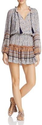 MISA Los Angeles Lorena Printed Chiffon Dress $238 thestylecure.com