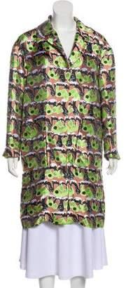 Marni Printed Knee-Length Coat