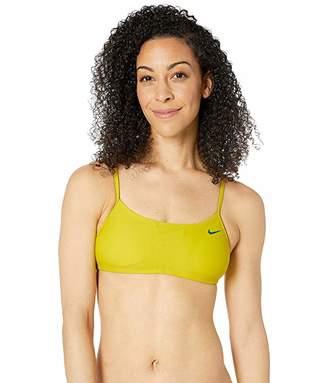 Nike Solid Racerback Bikini Top