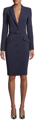 Badgley Mischka Bodycon Jacket Dress