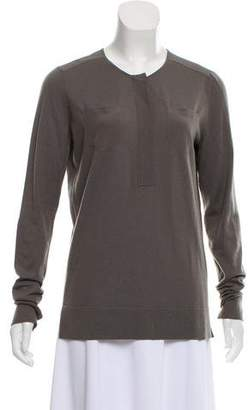 Loro Piana Long Sleeve Knit Sweater