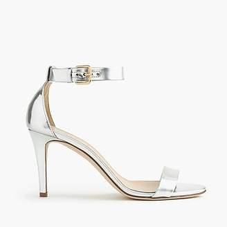 J.Crew Mirror metallic high-heel sandals