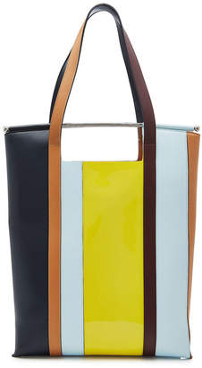 DELPOZO Great Leather Tote with Handles