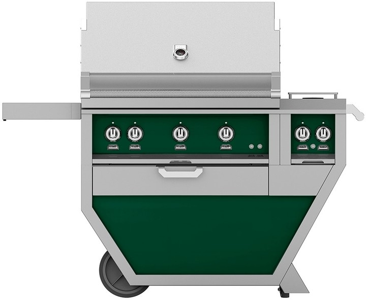 Hestan 54'' Grill with Double Side Burners