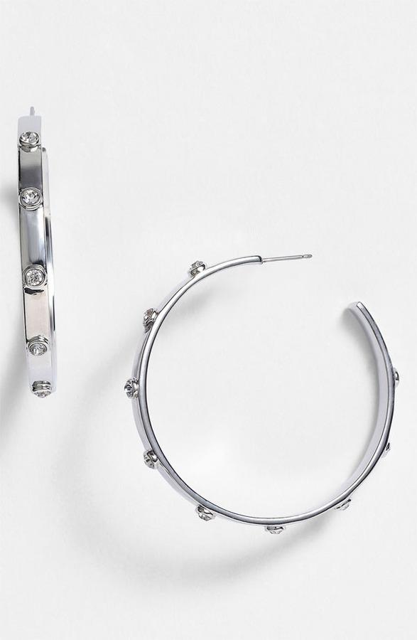 Vince Camuto 'Speakeasy' Hoop Earrings