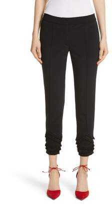 Yigal Azrouel Fringe Detail Bi-Stretch Pants