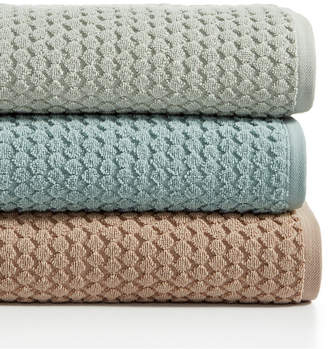 """Hotel Collection Sculpted 30"""" x 56"""" Turkish Cotton Bath Towel, Created for Macy's"""