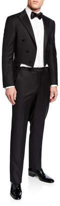 Hickey Freeman Men's Formal Tasmanian Solid Jacket