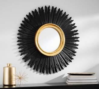Pottery Barn Louis Sunburst Mirror