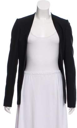 Calvin Klein Collection Structured Open Front Jacket