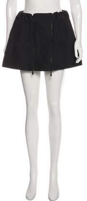 Opening Ceremony Zip-Accented Mini Skirt
