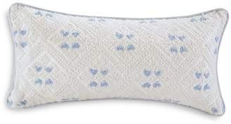 "Echo Ravi Embroidered Decorative Pillow, 10"" x 20"""