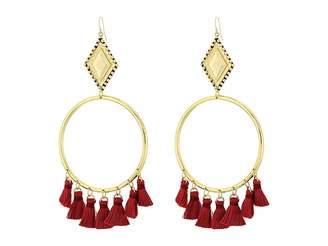 Vanessa Mooney The Ania Tassel Hoop Earrings Earring