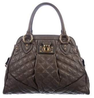 Marc Jacobs Quilted Alyona Satchel gold Quilted Alyona Satchel