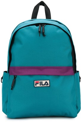 Fila logo patch backpack