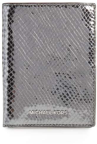 Michael Kors Money Pieces Leather Passport Wallet