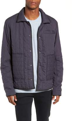The Rail Quilted Nylon Trucker Jacket